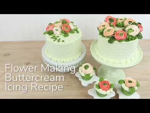 How to Make Buttercream for Flower Making | Global Sugar Art