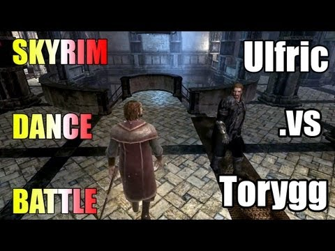 Skyrim dance battle: Ulfric vs Torygg