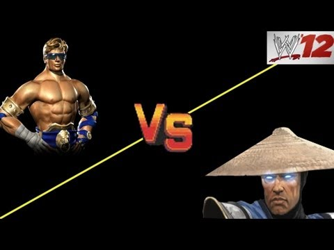 WWE 12: CAW ARENA - Raiden VS Johnny Cage