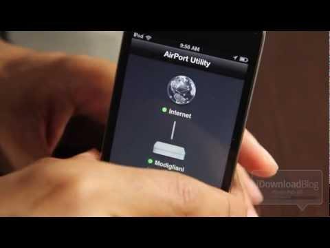'AirPort Utility' Video Walkthrough