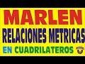 EL TEOREMA DE MARLEN EN LOS CUADRILATEROS EJERCICIOS RESUELTOS