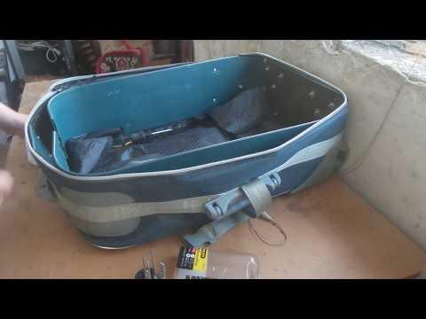 Ремонт корпуса чемодана на колесиках своими руками 93