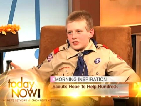12-Year-Old Boy Scouts Offer To Give Breast Exams