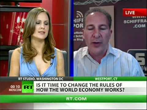 Peter Schiff: -US economy heading for disaster-