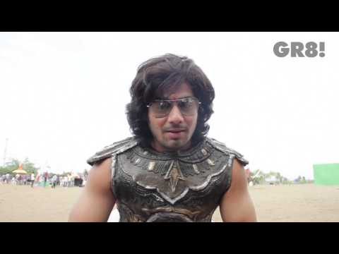 GR8! TV Mag - Shares His Experience & Journey at Mahabharat