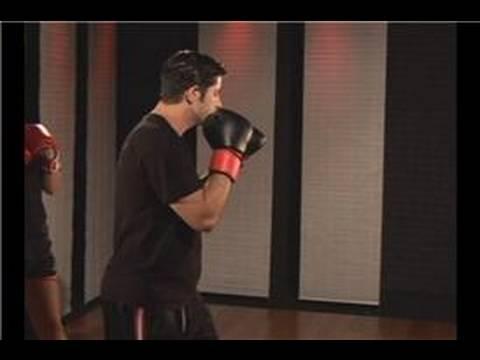 Kickboxing 1-2 Combinations : Kickboxing 1-2 Combo: Punch & Lead Front Kick