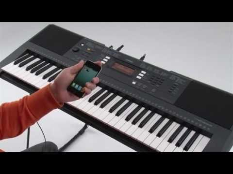 Yamaha PSR-E343 & PSR-E243 and iOS Applications