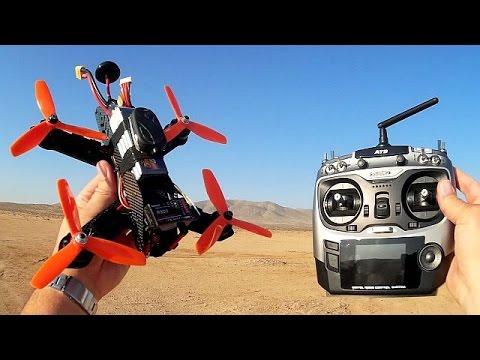 Foxtech Lightning 210 RTF FPV Racing Drone Flight Test Review - UC90A4JdsSoFm1Okfu0DHTuQ