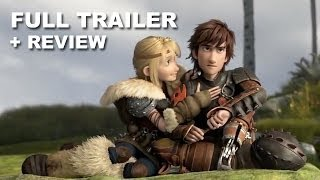 How To Train Your Dragon 2 Official Trailer + Trailer Review : HD PLUS