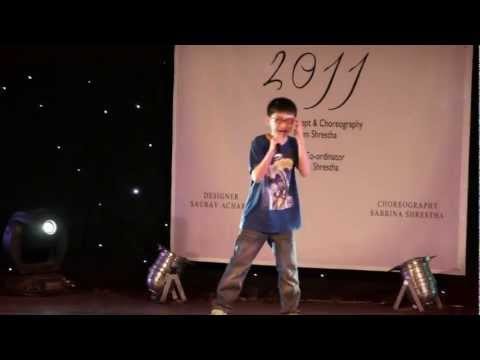 Nicholas Rai Live At Mr & Miss Top Model UK  Nepal 2011