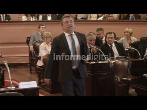 <b>Diputados.</b> Urribarri asumió como presidente de la Cámara