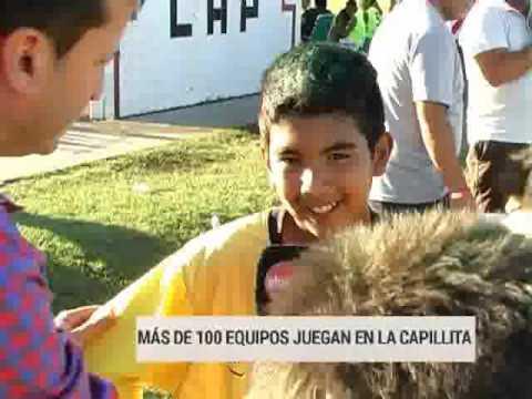 Más de cien equipos participaron del torneo de fútbol infantil de La Capillita
