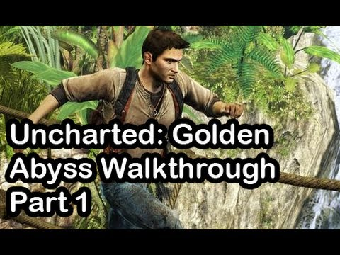 Uncharted: Golden Abyss Walkthrough Part 1 (PS Vita) - PSVita Vlog 5