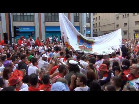 SALIDA DE LAS PEÑAS PLAZA TOROS PAMPLONA (NAVARRA) 11- 07 2014