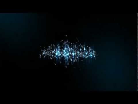 Glass explosion text effect - After Effects CS5