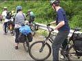 Фрагмент с середины видео 2009 год. Поездка на велосипедах на мыс Гамов