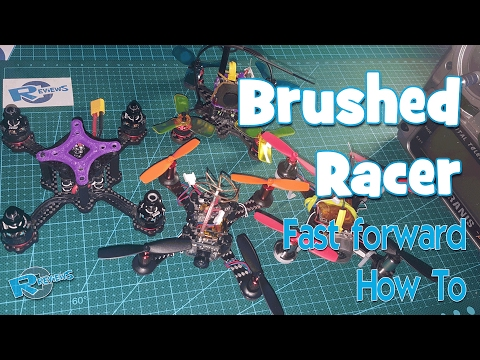 Brushed mini racer Smart100 fast forward easy Build steps - UCv2D074JIyQEXdjK17SmREQ