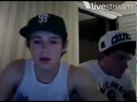 Niall Horan & Josh Devine Twitcam - 18th June 2012 [FULL]