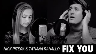Coldplay - Fix You - Nick Pitera - Tatiana Ranallo - Dominic Pitera (piano cover)