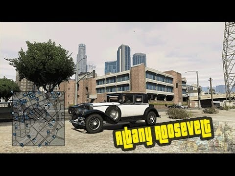 GTA 5 Online New Car Albany Roosevelt With Gameplay