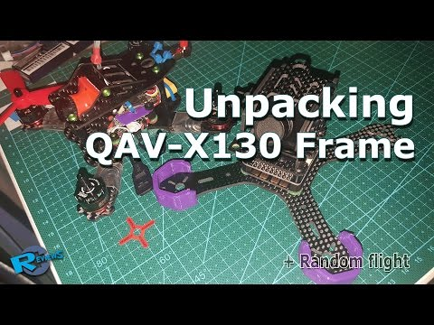 New QAV-X 130mm 2.5mm Full carbon fiber quadcopter frame - UCv2D074JIyQEXdjK17SmREQ
