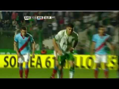 Gol de Leandro Diaz - Sarmiento 1 Arsenal 0 - Fecha 1 - Torneo Primera División