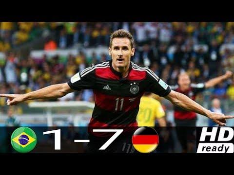 Brasil 1-7 Alemania - Semifinal del Mundial Brasil 2014