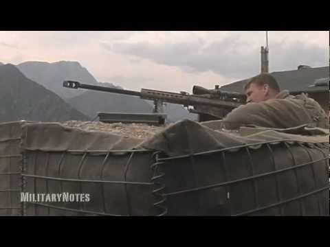 Hunting for Taliban spotters - Barrett M107 .50 BMG Rifle & Mk211 RAUFOSS