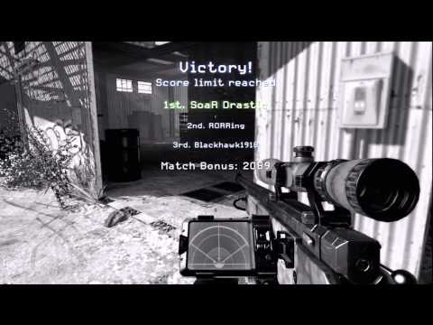 My First MW3 Trickshot! - SoaR Drastic