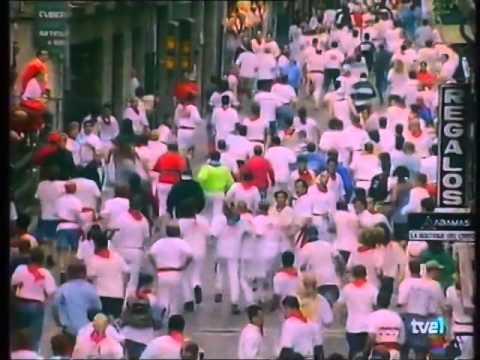 Encierro de San Fermín   7 de julio de 1998 480p