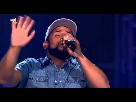 Mitchell Brunings - Redemption Song by Bob Marley. The Voice Of Holland Season 4