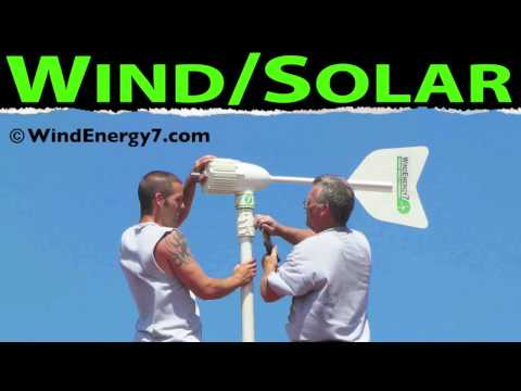 Wind and Solar - Solar and Wind
