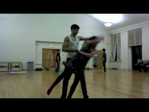 Swing Dance Advanced Routine
