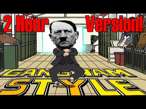 2 Hour - Hitler Gangnam Style Parody Remix