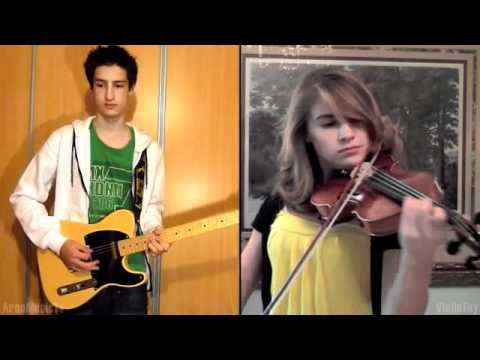 Final Fantasy VII Crisis Core The Price of Freedom Violin and Guitar (Collab with ArnoMusicTV)