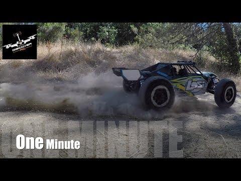 Losi Desert Buggy XL-E: One Minute Hill Climb. - UCKqpeIILaupg-SvrIstn-yA
