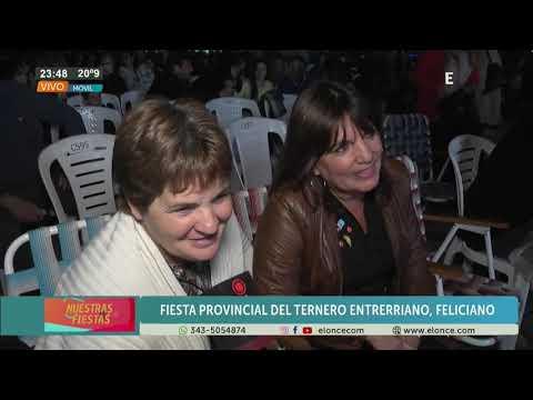 Fiesta del Ternero Entrerriano: Así vive la gente el espectáculo