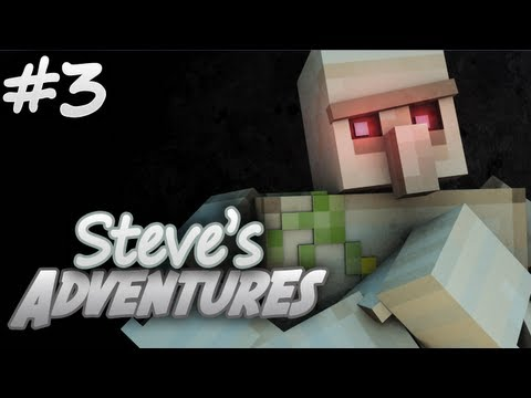 Minecraft: Steve's Adventures - Iron Golem (Episode 3)