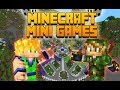 MINI GAMES Minecraft | Con MonsterDroiid | Dragones, Vacas Lecheras y más!