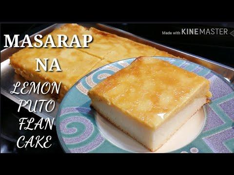 COOKING 101 : LEMON PUTO FLAN CAKE / MASARAP NA MERYENDA / SNACK TIME / SIMPLE RECIPE / MUST TRY....