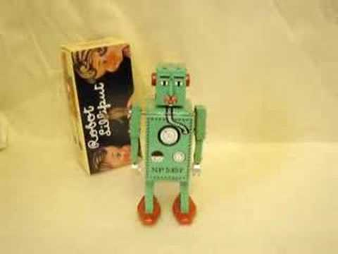 Schylling Robot Lilliput Wind-up Space Toy opamerica