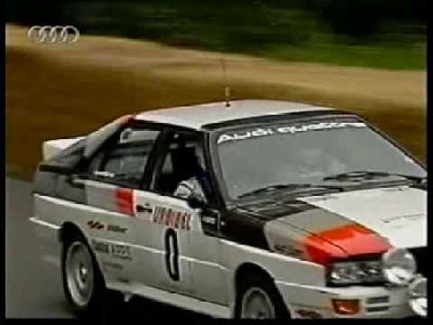 Hannu Mikkola Audi quattro Goodwood, in original works rally quattro IN-NE 3 Algarve Rallye 1980