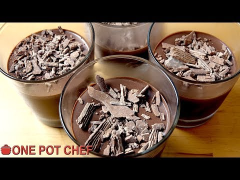 2 Ingredient Chocolate Mousse | One Pot Chef