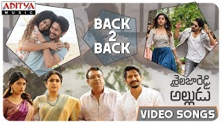 Shailaja Reddy Alludu Video Songs Back to Back