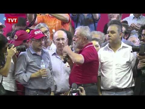 Pronunciamento do Lula no encontro da Frente Brasil Popular em 04 de março de 2016