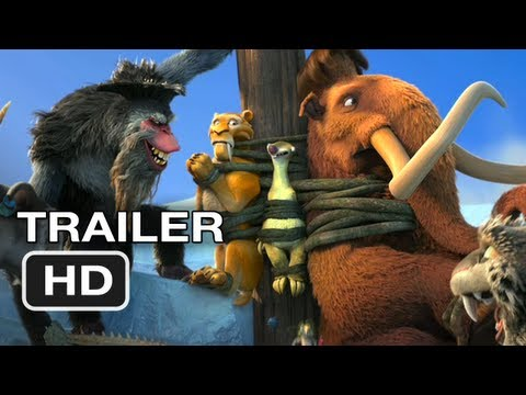 Ice Age Continental Drift Official Trailer #1 (2012) HD Movie