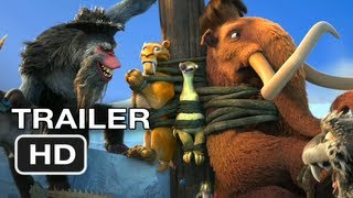 Ice Age Continental Drift Official Trailer (2012) HD Movie