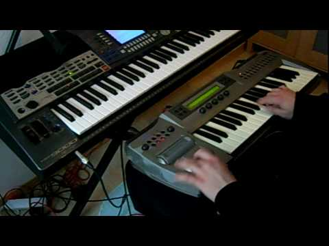 3 Getoar Ejupi / Geti - Taksim / Testing sounds; Violin & Casio Sound