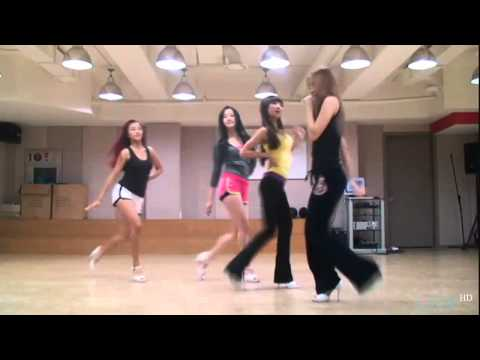 [HD]Sistar - Over &amp; How dare you (Practice)