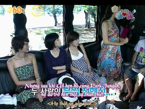 Game Show thực tế Tiffany SNSD Kko Kko tour part 15